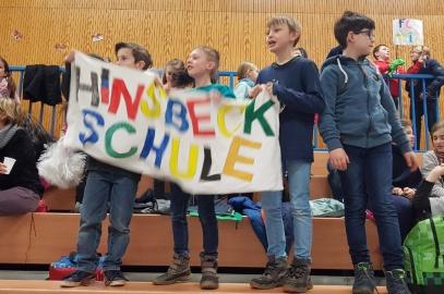 Hinsbeckschule bei Wettkämpfen würdig vertreten