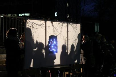 Eindrucksvolles Lichterfest an der Hinsbeckschule