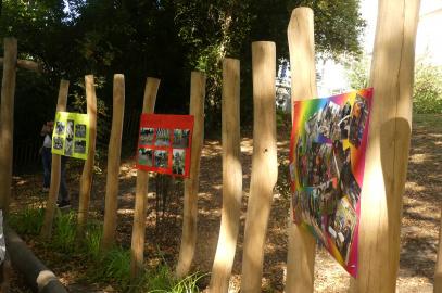 """Das Open-Air-Klassenzimmer """"Tiergarten"""" des Gartenbauprojektes wurde eröffnet!"""